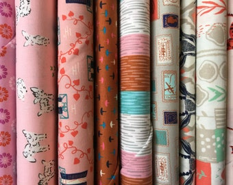 Cotton and Steel Pinks Bundle