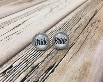 "14mm customized ""Bride"" studs"