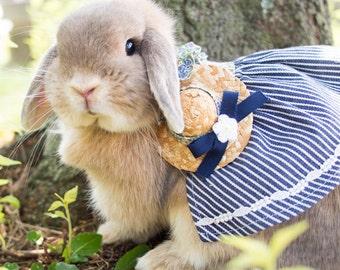 Charlotte Svenil Denim ROBE|Quality Bunny Clothes