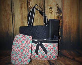 Monogrammed diaper bag, Personalized diaper bag, Monogrammed Diaper Bags, Personalized Diaper Bags, Diaper Bags, girl diaper bags