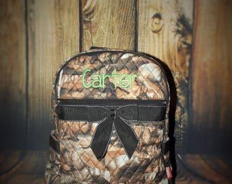 Monogrammed Camouflage backpack, Monogrammed  Backpack, Personalized backpack, Back pack, Toddler Backpack, diaper bag Backpack, diaper bags