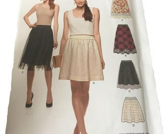 New Look easy skirt pattern size 8-20