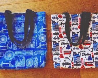 London print tote bag
