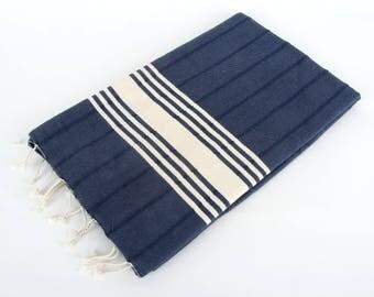 SALE 50%OFF! PAROS Turkish Towel - For Beach, Bath and Yoga