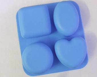 Basic Shapes Silicone Soap Mould