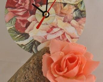 CD designer watch - rose motif