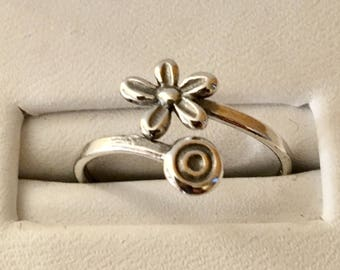 USA FREE Shipping!!! That NATION Band Flower Power By Pass Ring