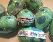 Mystery Dinosaur Egg Bath Bomb - Dinosaur Bath Bomb - Egg Bath Bomb - Castile Soap - Dino Bath Bomb - Surprise Bath Bomb - Gift Idea