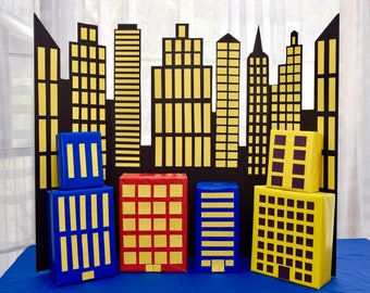 Buildings for Cityscape Backdrop