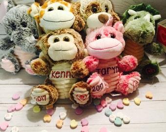 Personalized Valentines Plush