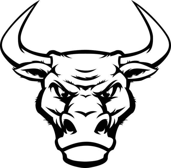 Bull Horns Drawing
