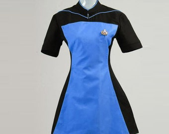 Star Trek TNG Skant Robe Cosplay Costumes