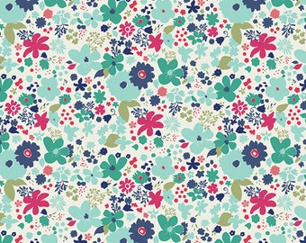 1 yard Vintage Rush Abloom Fusion 100% quilt shop cotton, Art Gallery Fabrics
