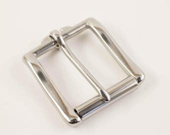 Roller Buckle 1 1/2', Stainless Steel