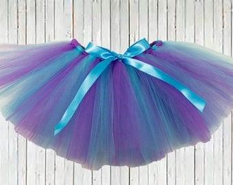 Purple Turquoise Blue Tutu, Easter Tutu, girl Tutu, infant tutu, baby tutu, newborn tutu, toddler tutu, wedding tutu, holiday tutu