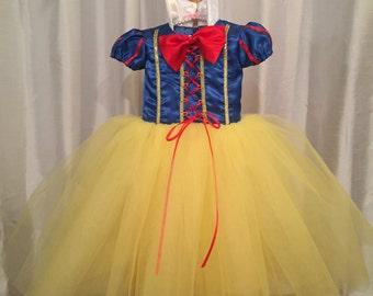 Snow White Tulle Dress
