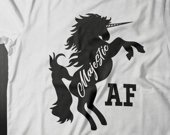 Majestic AF, Unicorn Shirt Women, Unicorn TShirt, Unicorn T-Shirt, Unicorn T Shirt, Unicorn Lover, I Believe In Unicorns, Unicorn Gift