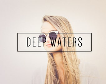 Deep Waters Indie Muse Collection 3 Presets  4 Tool Presets 9 LR Brushes Lightroom Presets for Professional Results by LouMarksPhoto
