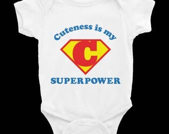 Cuteness is My Superpower Onesie