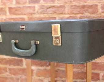 Green Vintage late 1960s Suitcase by Classic