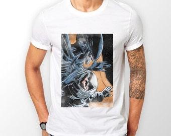 ALIEN ATTACK Cotton T-Shirt Boyfriend Gift Valentine's Gift