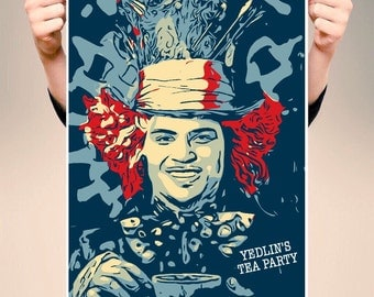 Yedlins Tea Party - A3 POSTER