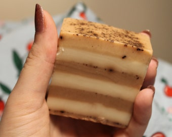 Peppermint Hot Chocolate Soap
