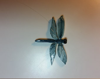 Small Textured Dragonfly Ceramic Tile for Mosaic