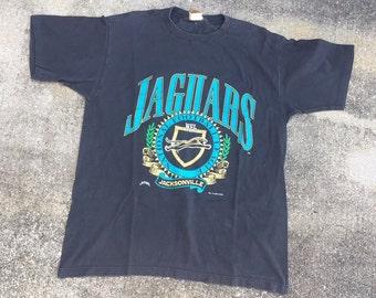 Vintage 1993 Nutmeg Jacksonville Jaguars Men's Shirt