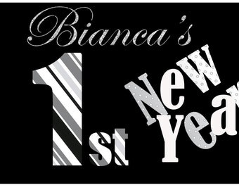 first New Years, First Christmas, Custom Tshirt, Custom Onesie, Custom Outfit, Birthday, Christmas, New Years,