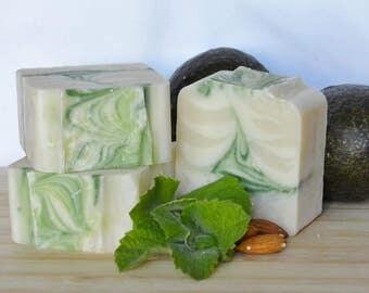 Mint Kisses Soap