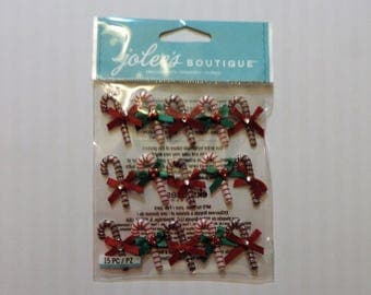 Candy Cane stickers by Jolee's Boutique