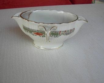 Antique gravy boat fat and thin ART DECO porcelain