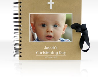 Personalised ScrapBook/ Photo Album 8x8 inches (Christening)