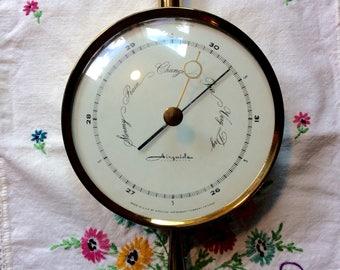 Airguide Banjo Style Barometer/ Temperature