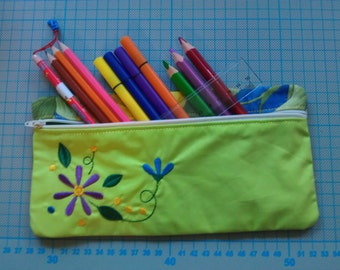 Pencil case, pencil pen case, sewn, 1 PCs.
