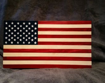 American Flag - Painted