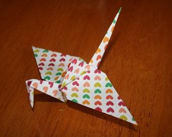 20 Origami Crane Wedding Favors Bright Colors BC1/6
