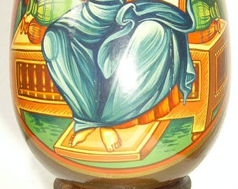 icons painted on wooden eggs 6