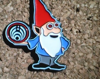 Bass gnome hat pin