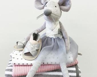 Mia mouse ballerina soft toy