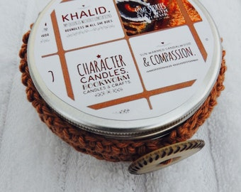 The Wrath and the Dawn Inspired Character Candle Tin - Khalid