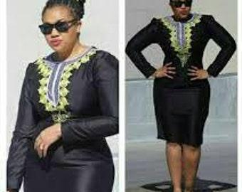 African clothing, Women's dress, Ankara women dress, African women dress, African dress for women