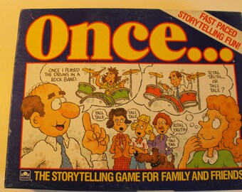 Once... Fast-Paced Storytelling Game 1987     (787)