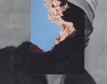 Caves III - Original Collage