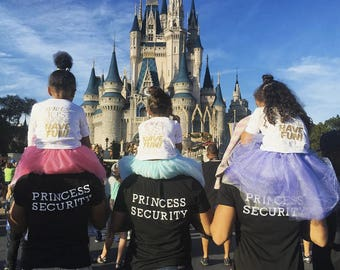Princess Security T Shirts