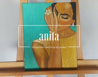 Anita - Oil Painting