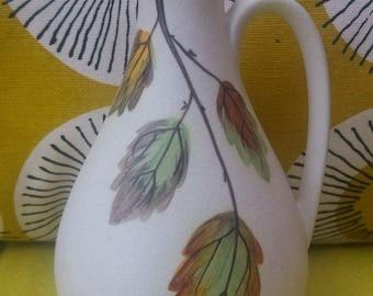 Pottery vinegar jug, vintage