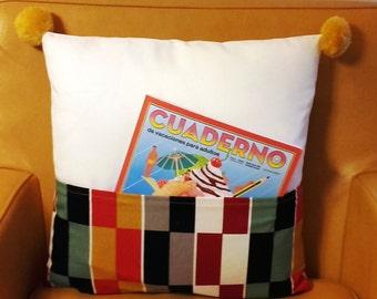 Butxaca Pillow Cover / Funda cojín Butxaca