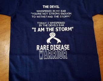 Rare disease Warrior shirt